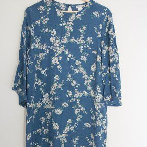 GP + J Baker H&M Dress Blue with Floral